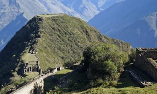 Zdjęcie PERU / Cusco / Choquequirao / Plac ceremonialny na szczycie.