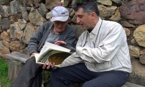 PERU / Vilcabamba / Vilcabamba / Juvenal Cobos  wspomina wyprawę Tony Halika i Elżbiety Dzikowskiej