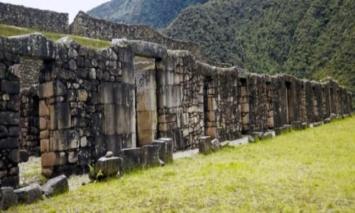 Zdjecie PERU / Vilcabamba / Vitos / Pałac Manco Inki w Vitos