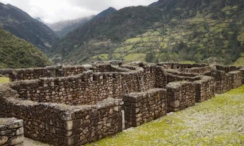 Zdjecie PERU / Vilcabamba / Vitos / Dwupoziomowa twierdza Vitos