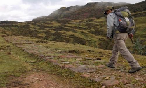 Zdjecie PERU / Vilcabamba / Vitos / Królewska droga inków.