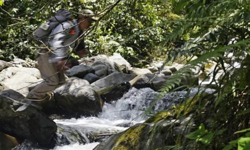 Zdjecie PERU / Vilcabamba / Vilcabamba / Pokonujemy naturalne przeszkody