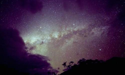 Zdjęcie PERU / Vilcabamba / Vilcabamba / Nocne niebo nad andyjską dżunglą