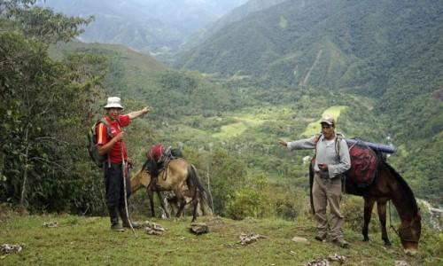Zdjęcie PERU / Vilcabamba / Vilcabamba / Widok na legendarną Espiritu Pamapa,to tu znaleźli schronienie, ostatni inkascy władcy,