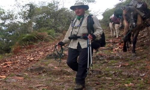 Zdjęcie PERU / Vilcabamba / Vilcabamba / Podekscytowany, złapałem prowadzącego muła za uzdę i poprowadziłem moją karawanę. do doliny Duchów