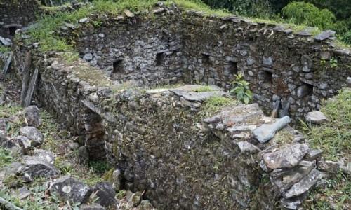 Zdjecie PERU / Vilcabamba / Vilcabamba / Ruiny pałacu w Wielkiej Vilcabambie