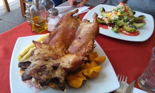 Zdjecie PERU / Cusco / Cusco / Peruwianski lunch