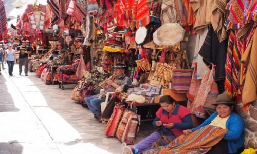Zdjecie PERU / Andy / Pisac / Pisac Market