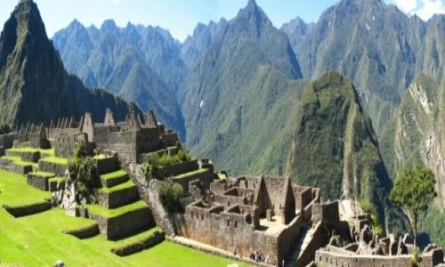 Zdjęcie PERU / Andy /  Panorama ze szczytu Machu Picchu / Machu Picchu