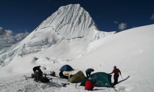 Zdjęcie PERU / brak / Cordillera Blanca / obóz pod Alpamayo