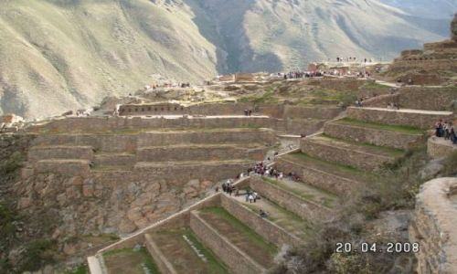 Zdjęcie PERU / brak / Święta Dolina Inków / Twierdza, świątynia - Ollantaytambo