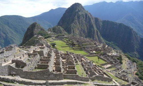 Zdjecie PERU / brak / Machu Picchu / pocztówka z Peru