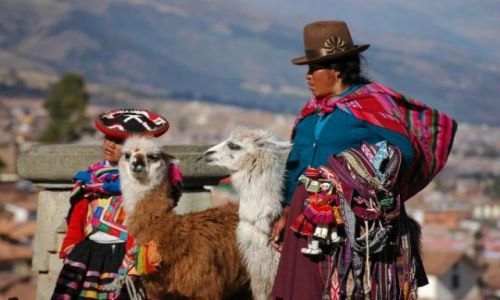 Zdjecie PERU / brak / Cusco / Panie typowe