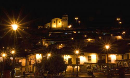 Zdjecie PERU / brak / CUZCO  / Cuzco nocą