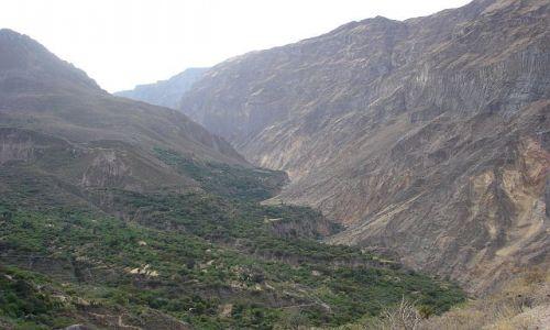 Zdjecie PERU / brak / Canion Colca / fragment CANIONU