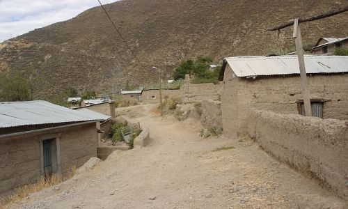 Zdjęcie PERU / brak / Canion Colca / JEDNA Z WIOSEK W CANIONIE