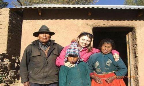 Zdjecie PERU / Jezioro Tititaca / wyspa Tequile / Tubylcy