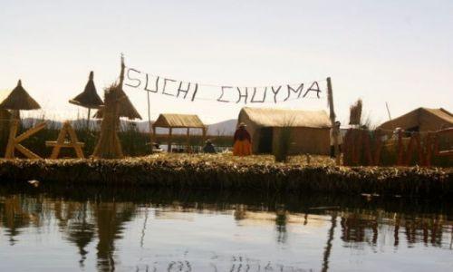 Zdjecie PERU / brak / jezioro titicACA / wyspy trzcinowe