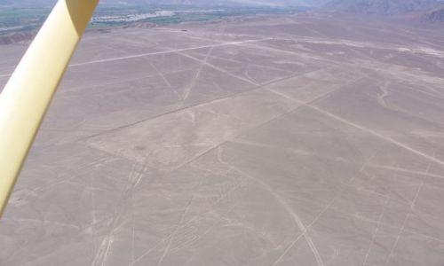 PERU / płaskowyż Nazca / Nazca / linie Nazca