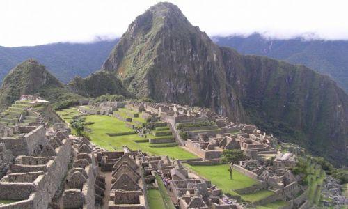 PERU / południe Peru / Machu Picchu / inkaskie miasto