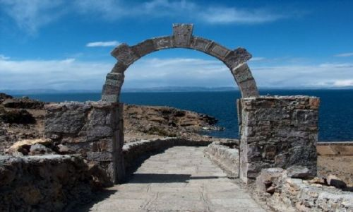 Zdjecie PERU / Altiplano / Jezioro Titicaca / Wyspa Amantani