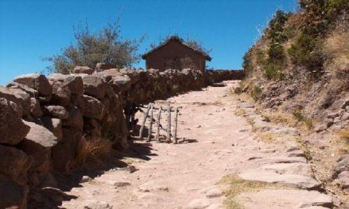 Zdjecie PERU / Altiplano / Jezioro Titicaca / Wyspa Taquile