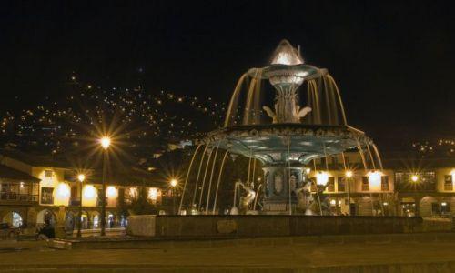 Zdjęcie PERU / brak / CUSCO / Cuzco nocą