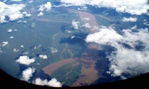 Zdjęcie PERU / amazonia (Loreto) / wracajac z Iquitos / amazonia z lotu ptaka