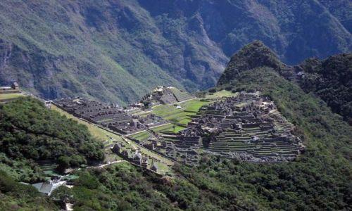 Zdjecie PERU / Cusco / Machu Picchu / widziane z troche innej strony