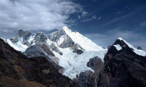 Zdjecie PERU / centralny / kordyliera Huayhuash / Yerupaja (6617m npm)