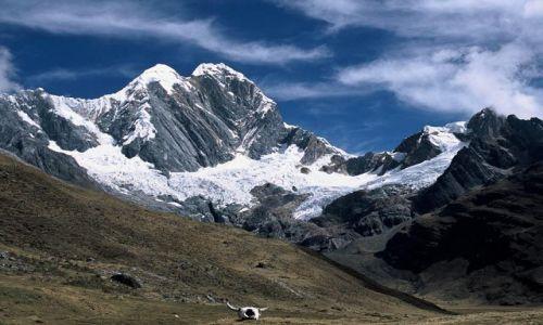 Zdjecie PERU / centralny / kordyliera Huayhuash / masyw Jirishanka od polnocy