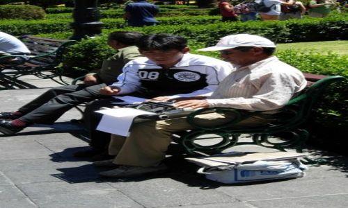 Zdjecie PERU / brak / Arequipia / Arequipia - Plaza de Armas, dla tych co nie dysponują komputerem lub własną maszyną do pisania...