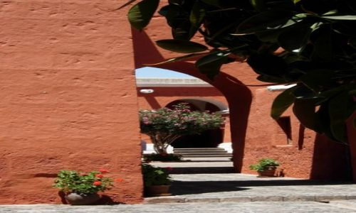 Zdjecie PERU / brak / Arequipia / Arequipia - klasztor Santa Catalina