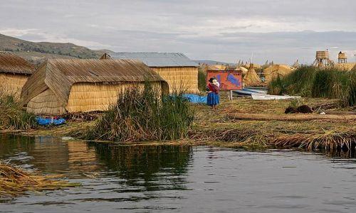 Zdjęcie PERU / Jezioro Tititaca / Wyspa Uros / Wyspa