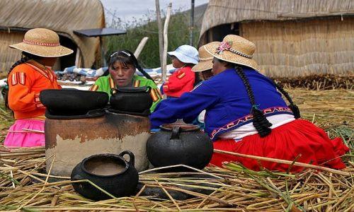 Zdjecie PERU / Jezioro Tititaca / Wyspa Uros / Kuchnia