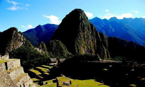 Zdjęcie PERU / Peru / Machu Picchu, widok na Huayna Picchu  / Machu Picchu