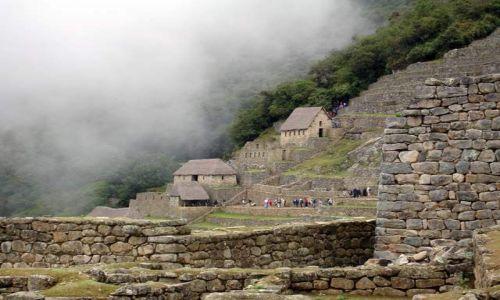 Zdjecie PERU / brak / Machu Picchu / W ruinach Machu Picchu