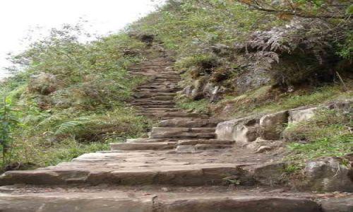 PERU / brak / Machu Picchu / Droga na Wayna Picchu