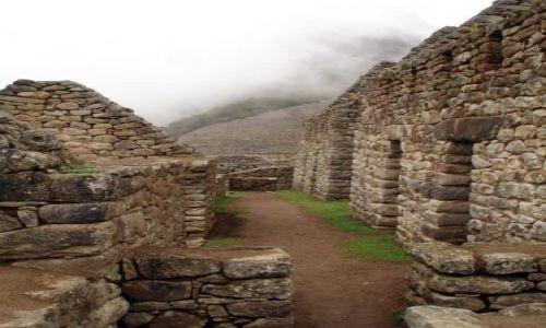 PERU / brak / Machu Picchiu / W ruinach Machu Picchu