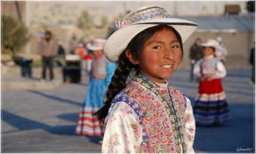 Zdjecie PERU / Rejon COLCA / Chivay / Dziewczyna z gór