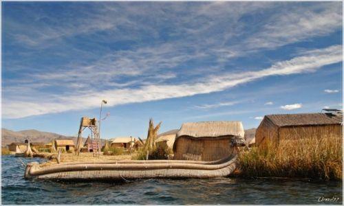 Zdjecie PERU / Jezioro Titicaca / Jezioro Titicaca / Wyspy Uros