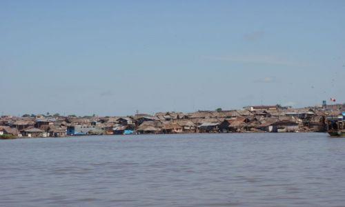 Zdjecie PERU / Iquitos / dzelnica Belen / pływające domy w Belen