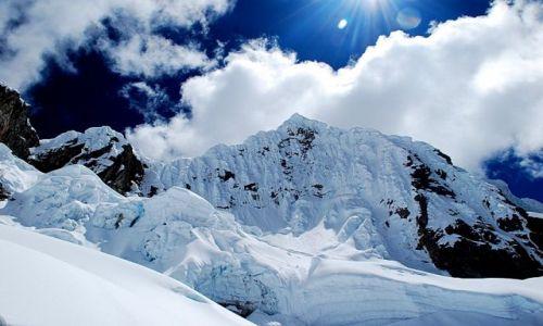 Zdjęcie PERU / Cordillera Blanca / widok z drogi do campo alto / Alpamayo