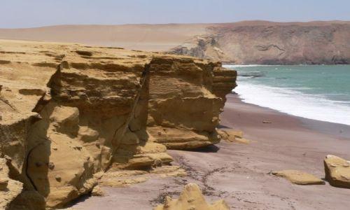Zdjecie PERU / brak / Rezerwat PARACAS / Nad Oceanem Spokojnym