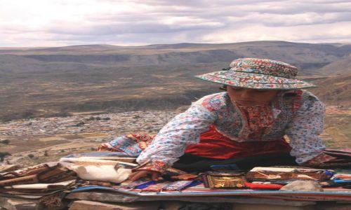 Zdjecie PERU / Arequipa / Canion Colca / praca na wysoko