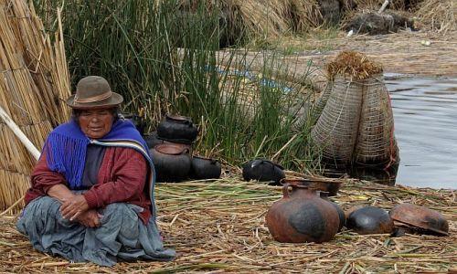 Zdjęcie PERU / jezioro Titicaca / wyspy Uros / Wyspy Uros