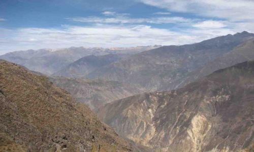 Zdjecie PERU / Canion Colca / Canion Colca / majestat gór