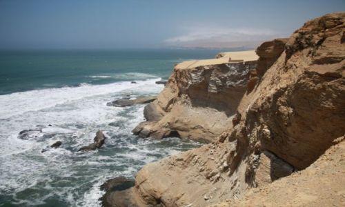 Zdjęcie PERU / Paracas / Paracas / skałki...klify