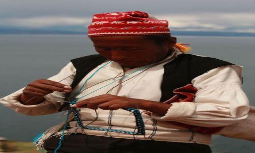 Zdjecie PERU / jez. Titicaca / wyspa Taqila / co powinni robić mężczyżni????