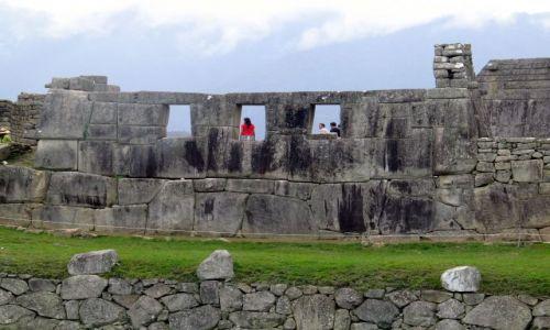 Zdjecie PERU / Andy / Kordyliery / MP - Swiątynia Trzech Okien